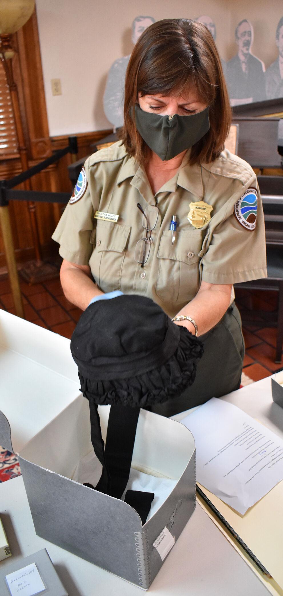 Southwest Virginia Museum - funereal bonnet