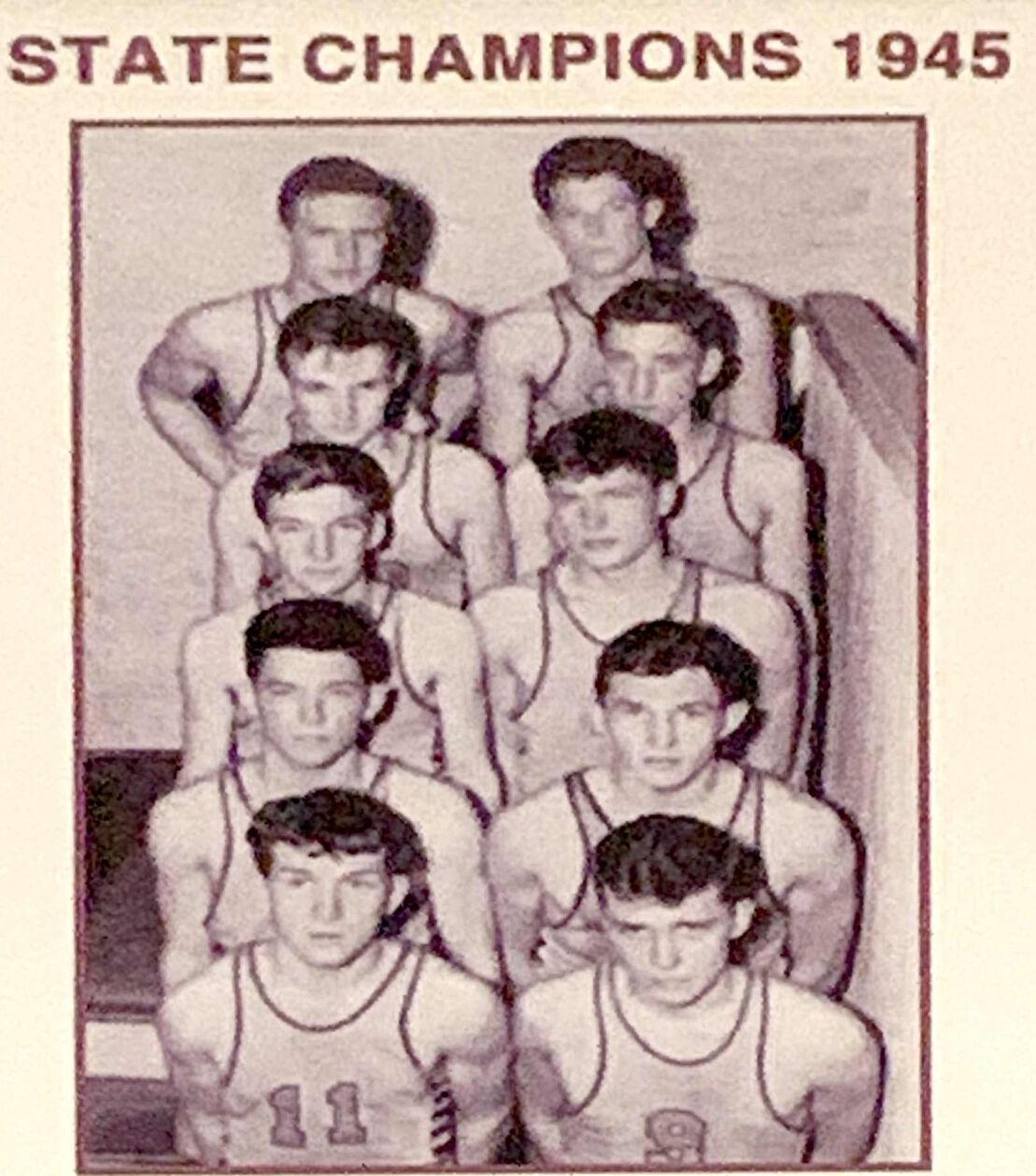 Dobyns-Bennett state title team, 1945