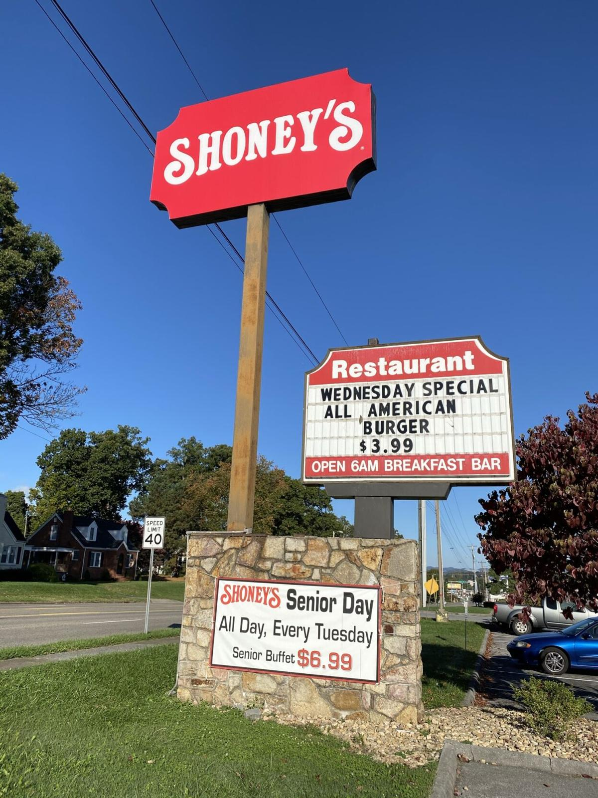 Shoney's in Kingsport
