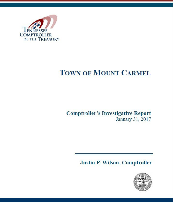 Comptroller report cites Mount Carmel violations from Frost era