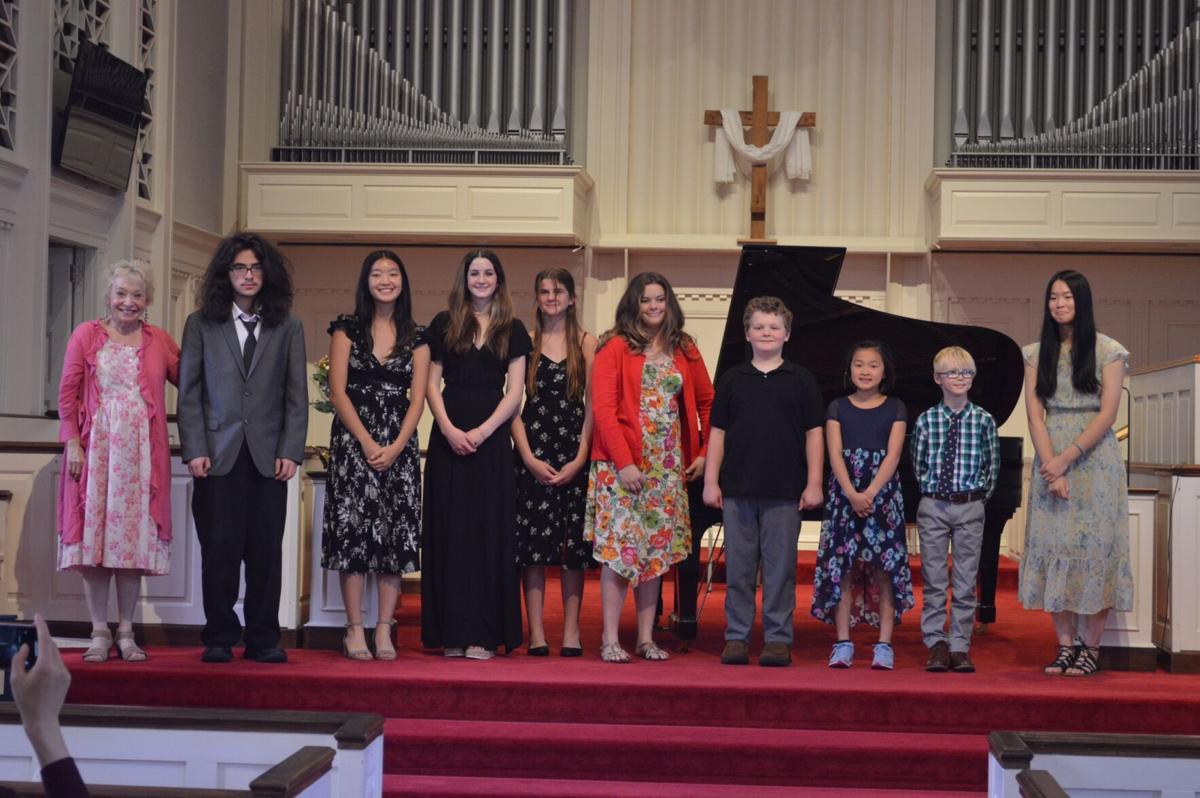 Carol Stone Piano Studio spring recital