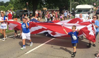 Mack Riddle Independence Day parade