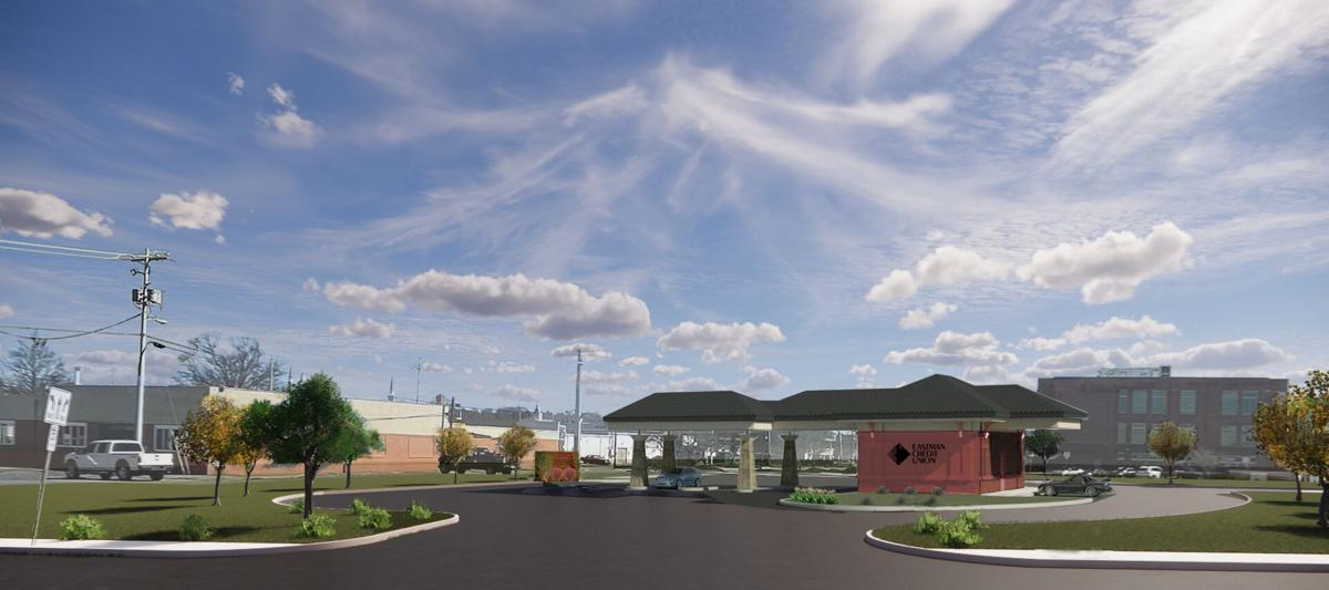 ECU downtown location rendering