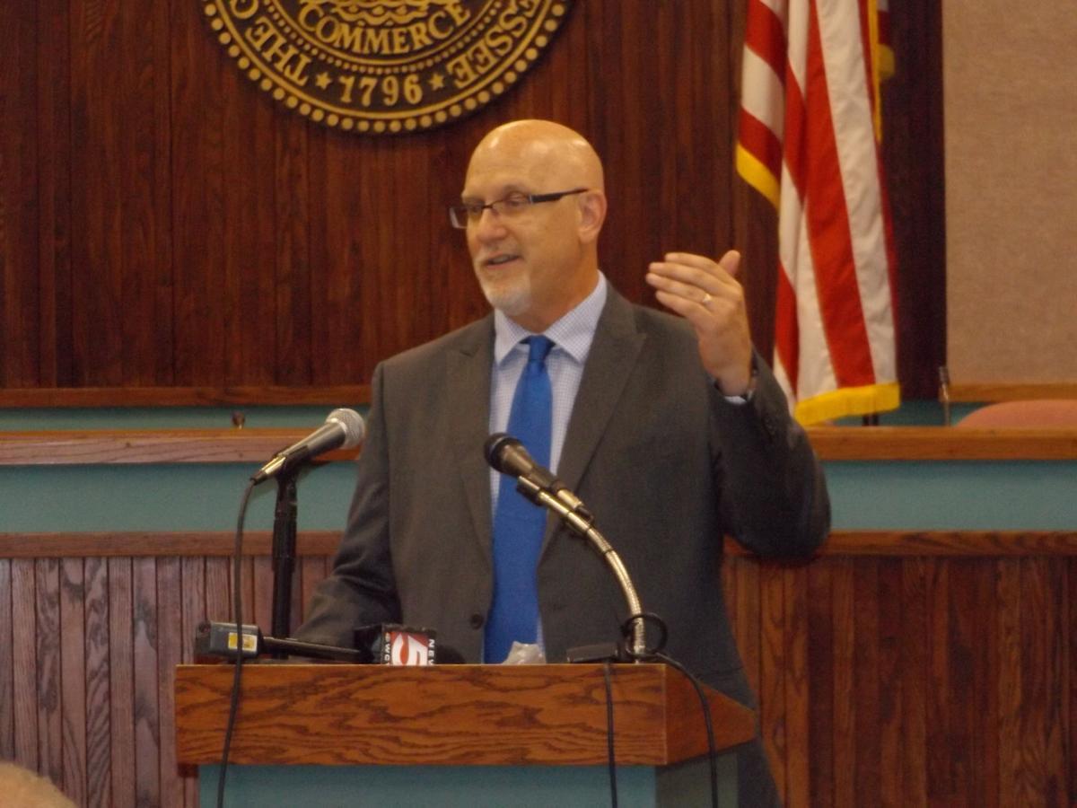 Jeff Moorhouse, Kingsport superintendent of schools
