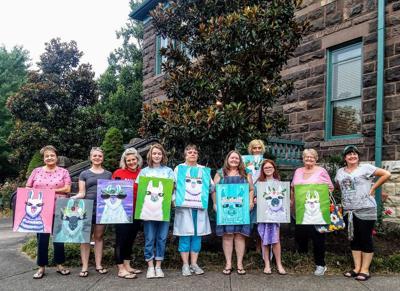 Paint workshop kicks off Artisan series