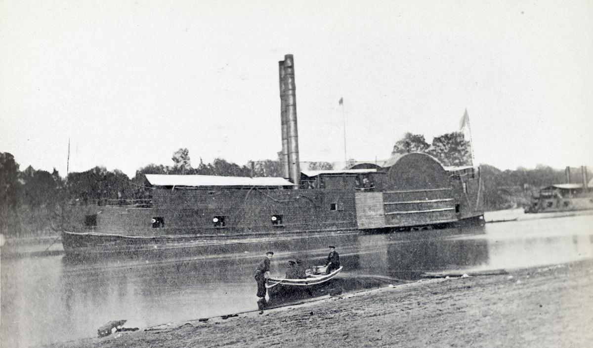 U.S. gunboat Lexington