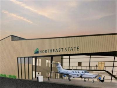 NE State hangar