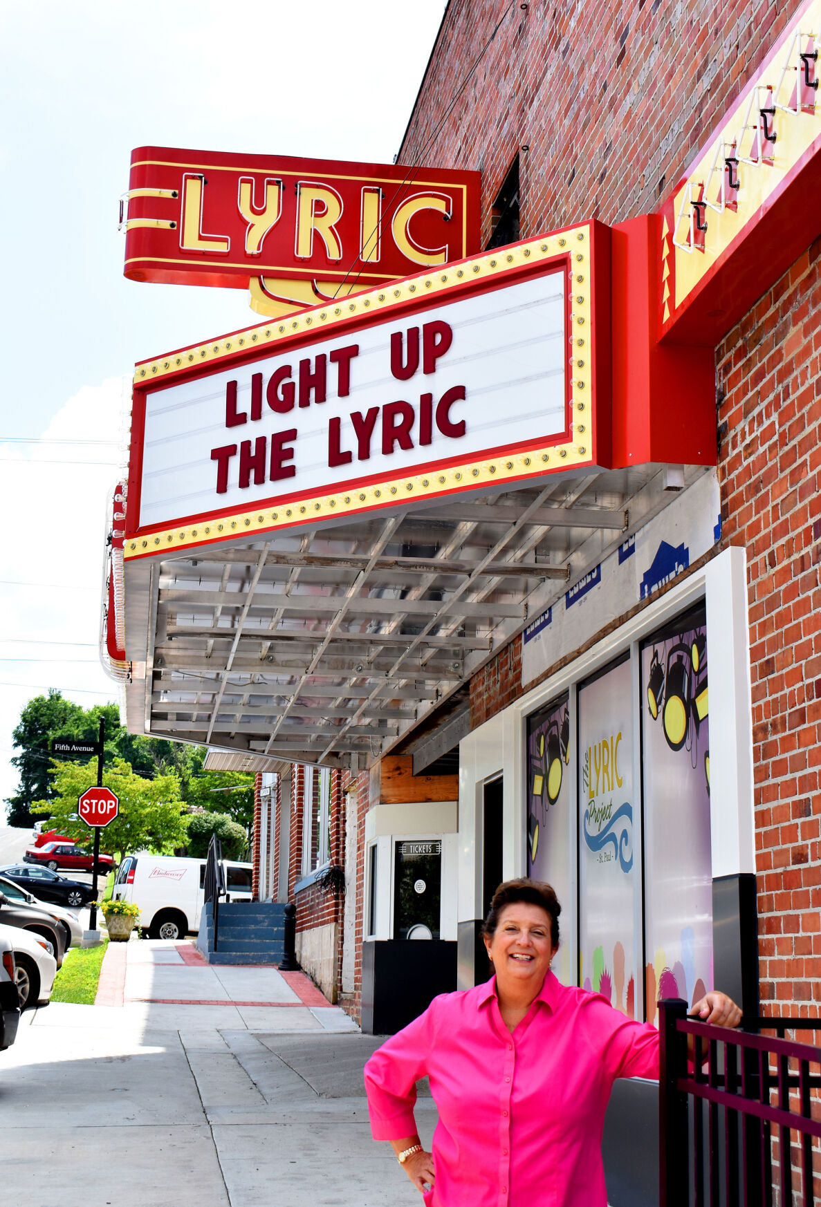 Downtown St. Paul improvements - Lyric Theater now