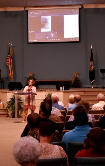 Church rally - Kim Mullins at Spirit and Truth Worship Center