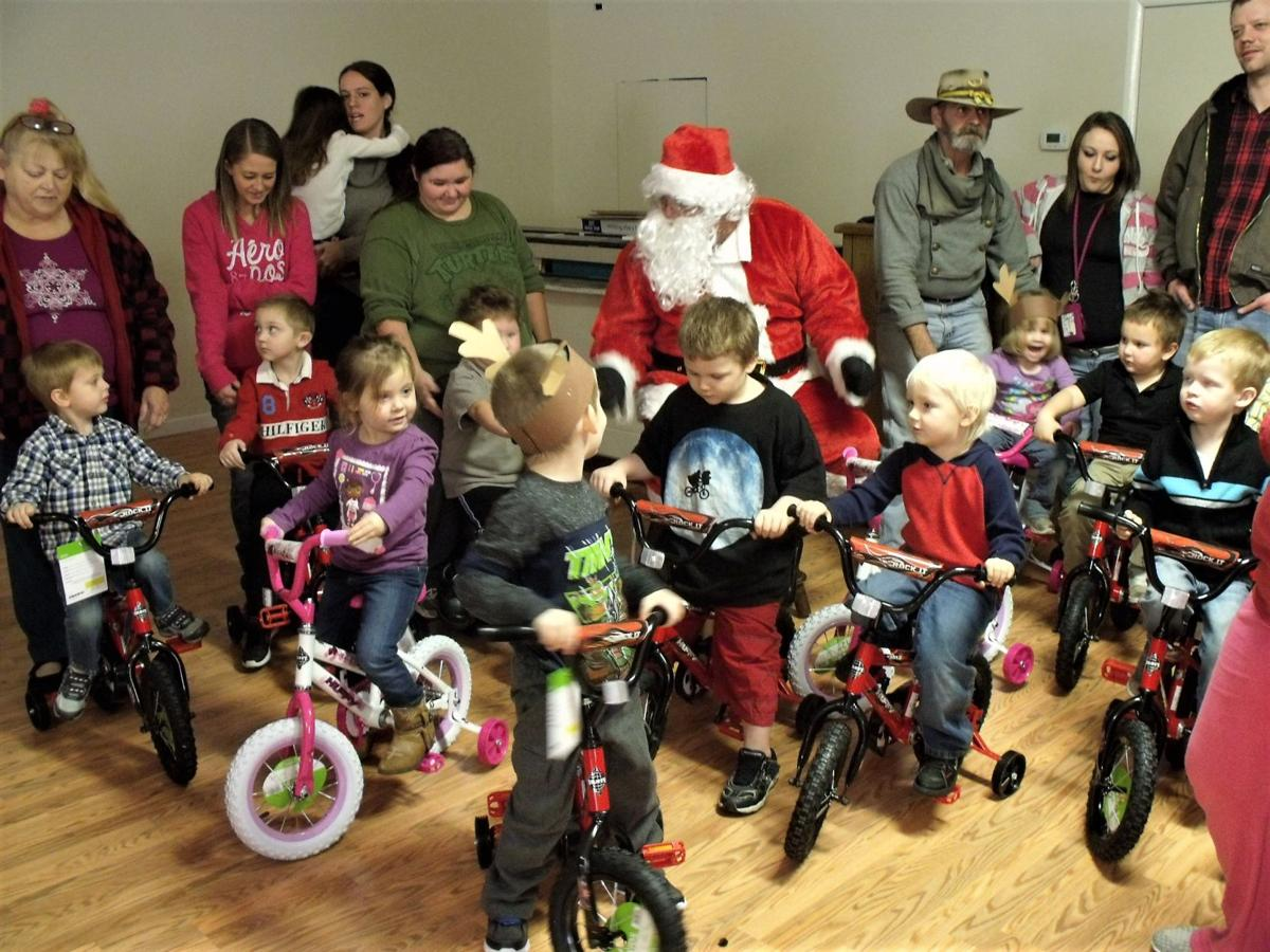 Motorcycle club holding 16th annual toy drive for Lee County children