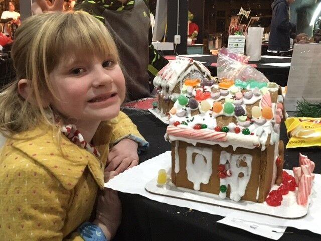 Alathea Lane's Gingerbread House