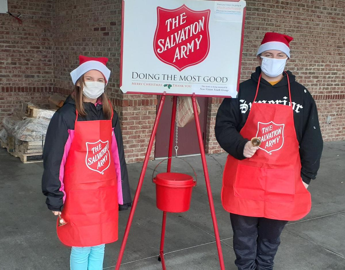 New Vision rings bells for Salvation Army