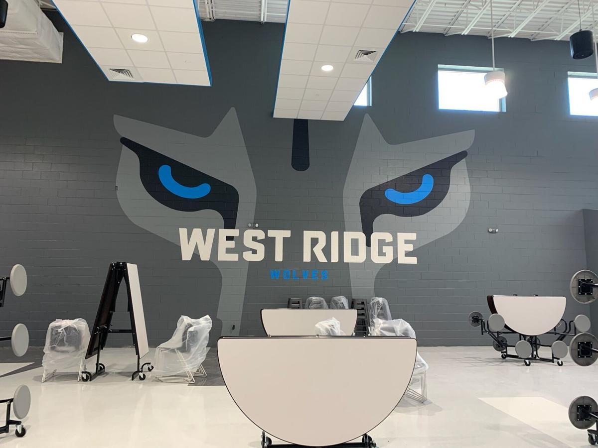 West Ridge cafeteria