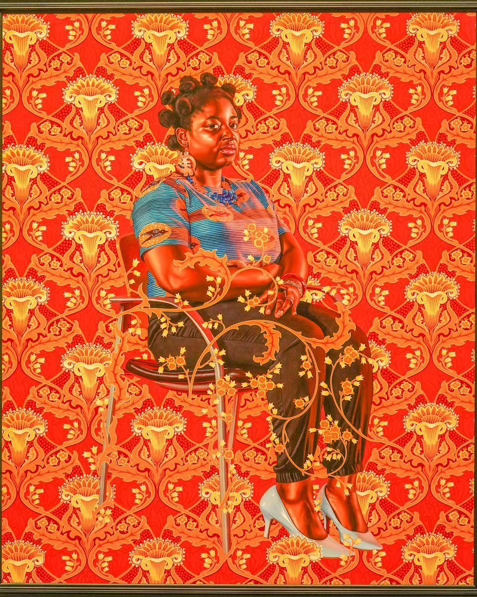 Kehinde_Wiley_Yvonne-Osei by Dickson Beall