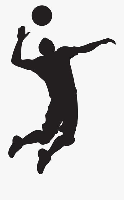 Boys Volleyball Clip Arts