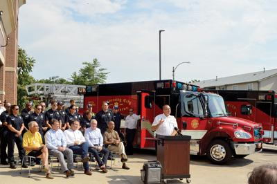 U. City Ambulance Service Ceremony