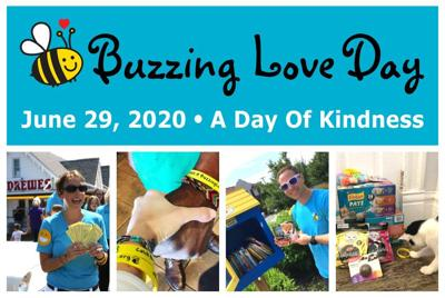 Buzzing Love Day 2020 promo collage