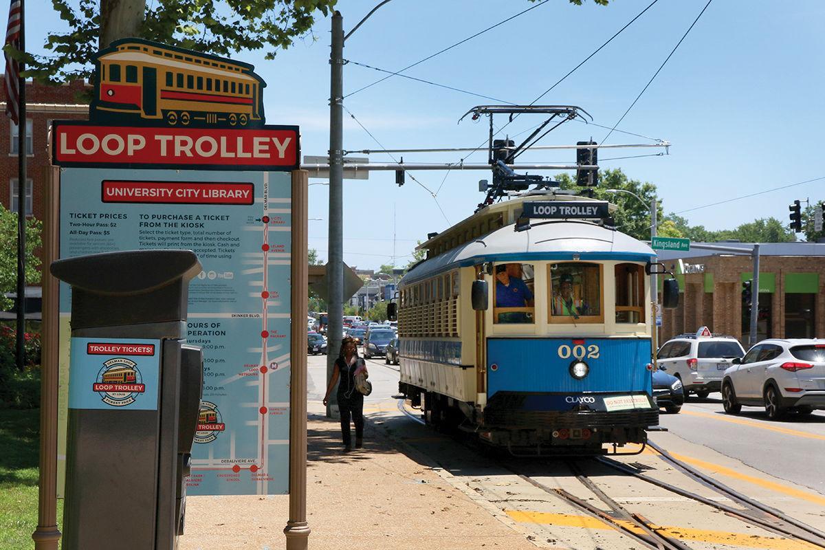 Loop Trolley UCPL stop