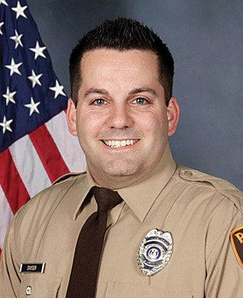 St. Louis County Police Officer Blake Snyder