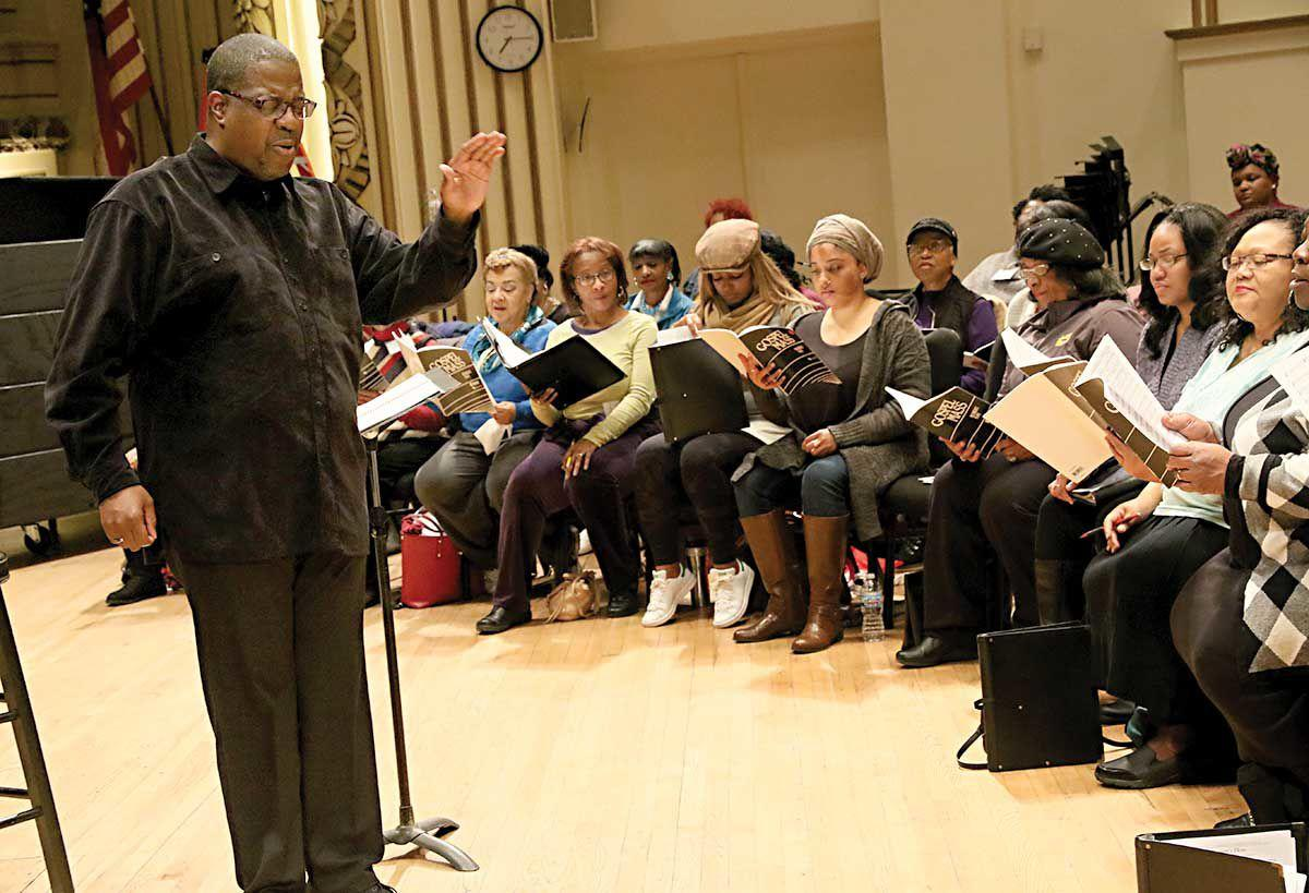Kevin McBeth and the IN UNISON Chorus