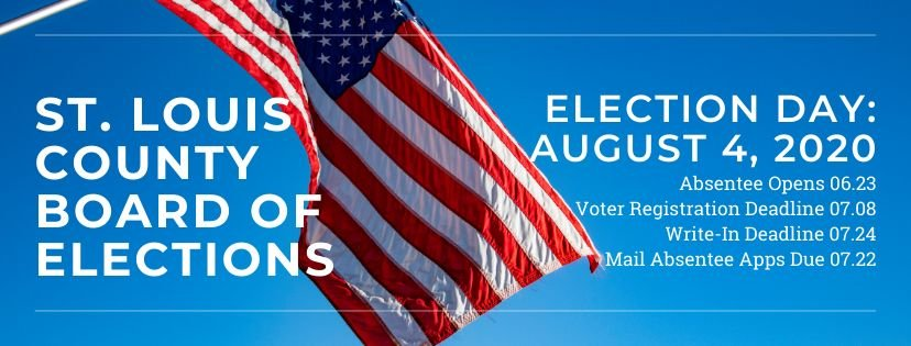 August 4 Primary Elections Notice/Reminder
