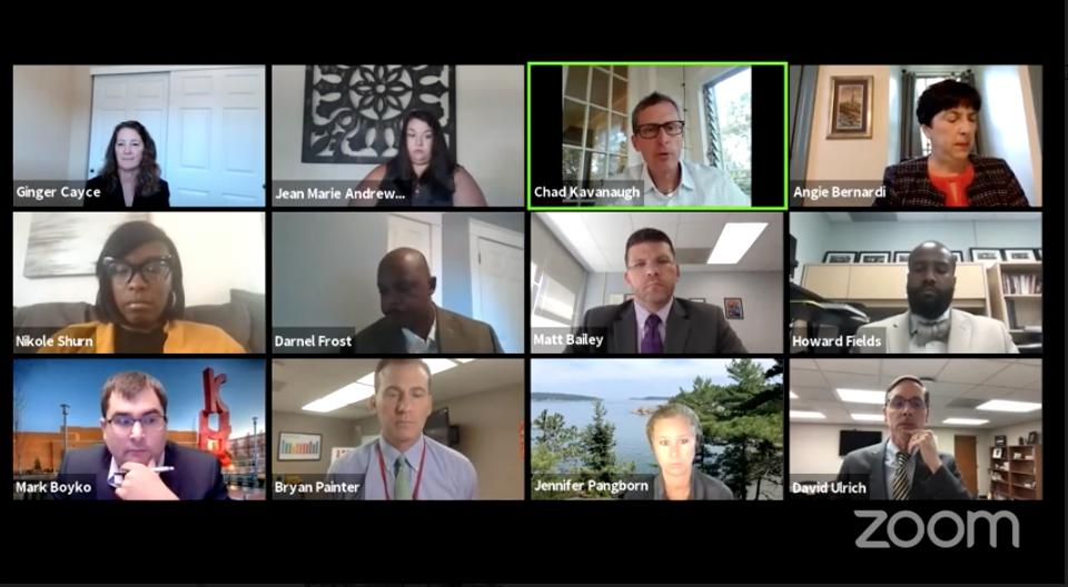 Kirkwood School Board virtual meeting