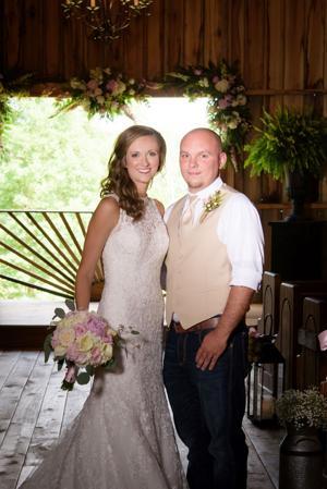 Jessica Parker and Brandon McDaniel