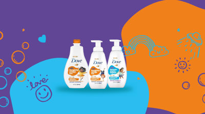 Dove Launches New Bath Products For Kids That Teach Self-Care
