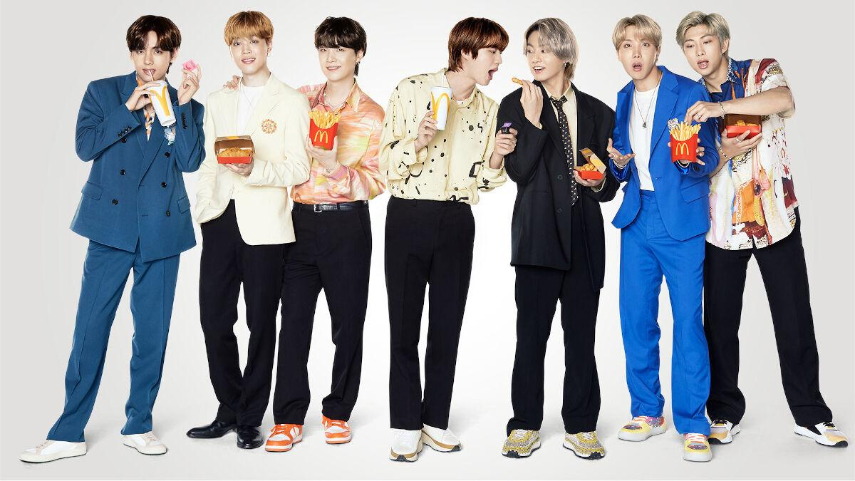 The BTS Meal Is Now Available At McDonald's, Plus There's Merch!