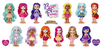 Bright Fairy Friends Series 2 Dolls Now Available!