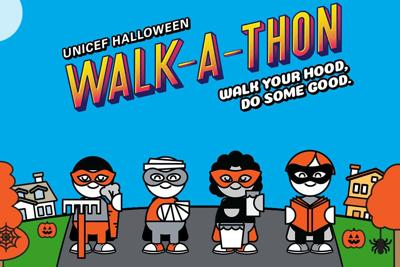 UNICEF Canada's Halloween Walk-a-thon Campaign Is Back