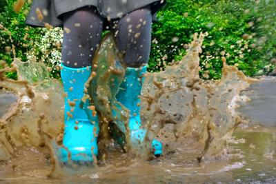 50 Things to Do When it Rains