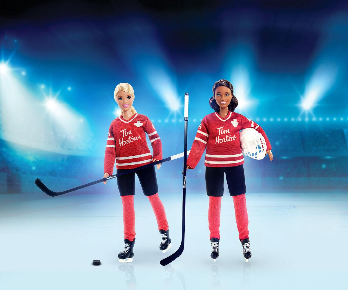 Tim Hortons and Barbie Team Up to Inspire Girls to Play Hockey