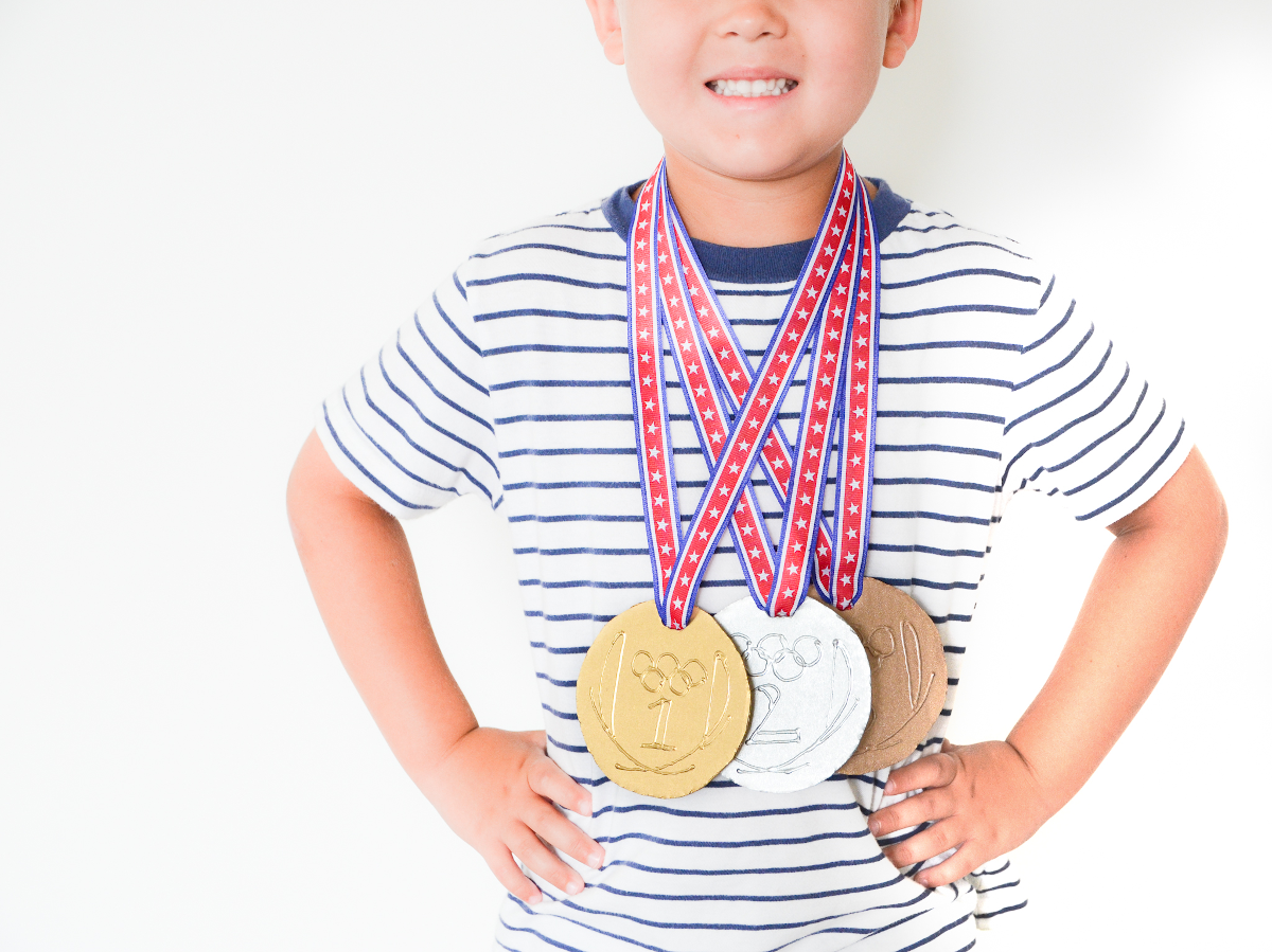 How To Host Your Own Mini-Olympics At Home With The Kids
