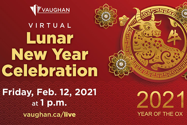 Vaughan Virtual Lunar New Year Celebration 2021