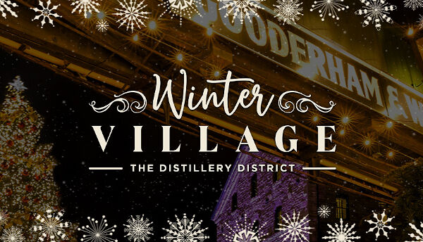 Winter Village at Distillery District