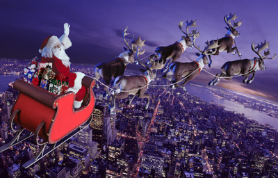 Santa Gets Cleared For Take-off In Canadian Airspace