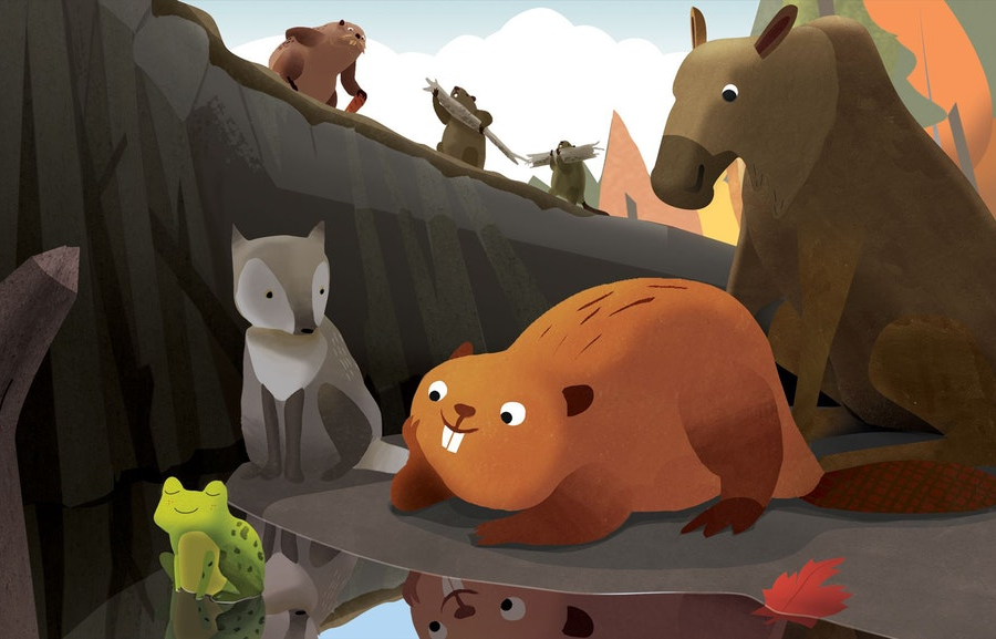 Weekend DAM! The Story of Kit the Beaver