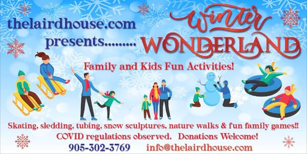 Laird House Is Hosting A Winter Wonderland Event For Families This March