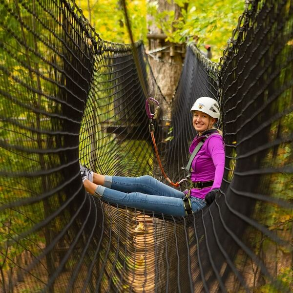 5 Top Reasons Why You Should Visit A Treetop Trekking Park This Fall