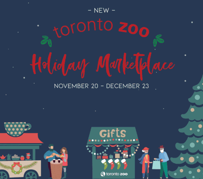 The Toronto Zoo Is Getting A Holiday Market Lead