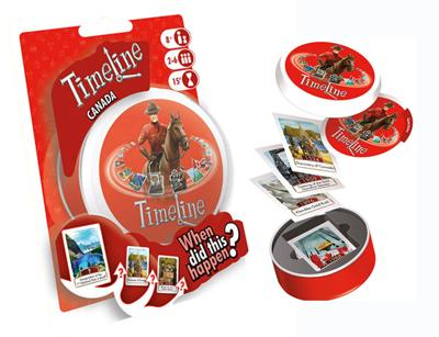 Timeline Canada Trivia Card Game