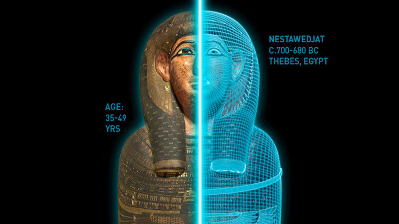 ROM's Egyptian Mummies: Ancient Lives. New Discoveries