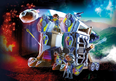Novelmore Mobile Fortress by Playmobil