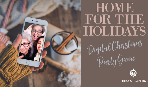 (STAY) Home for the Holidays Christmas Scavenger Hunt