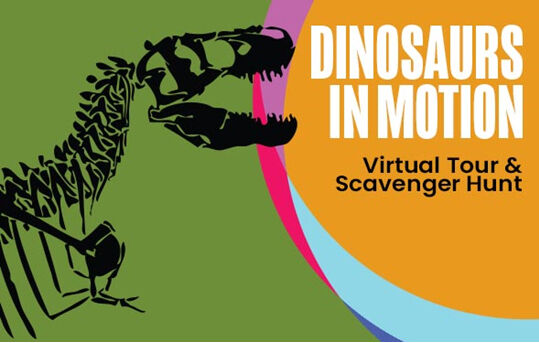 Dinos In Motion Virtual Tour at the Ontario Science Centre