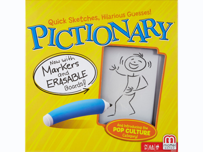 Pictionary: The Quick-Draw Classic Game