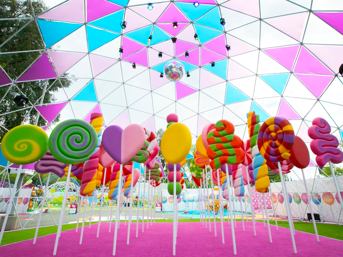 The Sugar Rush Candy-Themed Park Has Opened In Toronto