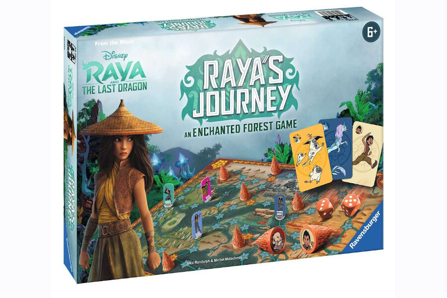 Raya's Journey: An Enchanted Forest
