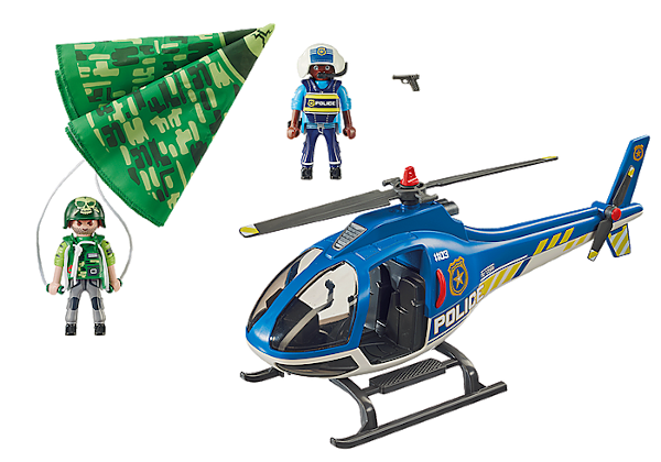 Police Parachute Search By Playmobil